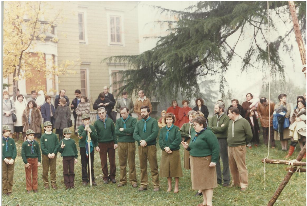 FESTA INAUGURAZIONE SEDE SCOUT- PARCO  COMUNE ZANICA - 1986